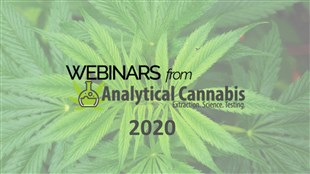 Analytical Cannabis Webinars 2020