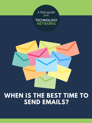 When is the best time to send emails? Image