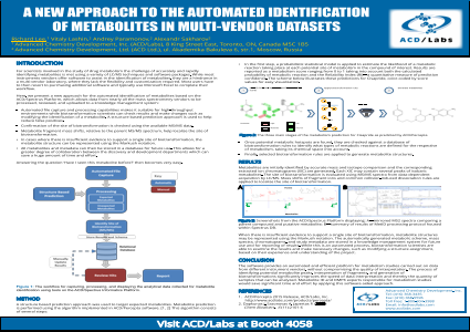 A New Approach to the Automated Identification of Metabolites in Multi-Vendor Datasets