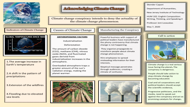 Acknowledging Climate Change