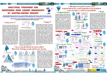 Analytical Strategies for Monitoring Ionic Liquids Breakdown by Electro-Fenton Process