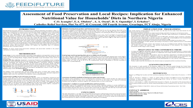 Eposters assessment of food preservation and local recipes assessment of food preservation and local recipes implication for enhanced nutritional value for households forumfinder Choice Image