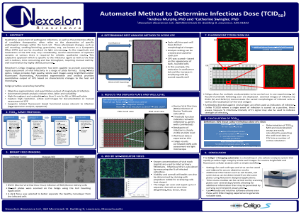 Automated Method to Determine Infectious Dose (TCID50)