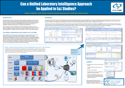Can a Unified Laboratory Intelligence Approach be Applied to E&L Studies?