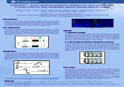 Chip'N'Fish : Novel Chemical Proteomics Platform for Rapid Identification of Small Molecule Drug Candidates Against Disease-Specific Targets