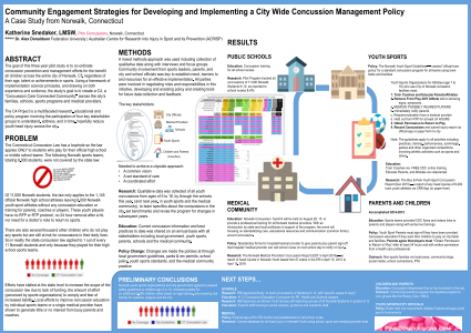 Community Engagement Strategies for Developing and Implementing a City Wide Concussion Management Policy