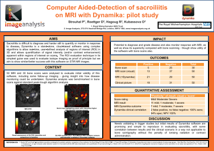 Computer Aided-Detection of sacroiliitis on MRI with Dynamika: pilot study