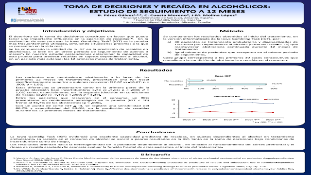 Decision-making and relapse in alcoholics: a 12 months follow-up study.