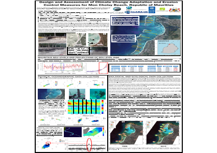 Design and Assessment of Climate Change Adaptation and Erosion Control Measures for Mon Choisy Beach, Republic of Mauritius