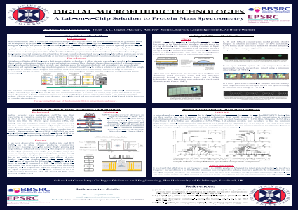 Digital microfluidic technologies: a lab-on-a-chip solution to protein mass spectrometry