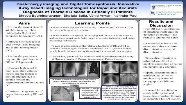Dual-Energy imaging and Digital Tomosynthesis: Innovative  X-ray based imaging technologies for Rapid and Accurate Diagnosis of Thoracic Disease in Critically Ill Patients