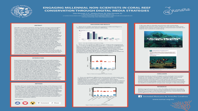 ENGAGING MILLENNIAL NON-SCIENTISTS IN CORAL REEF CONSERVATION THROUGH DIGITAL MEDIA STRATEGIES