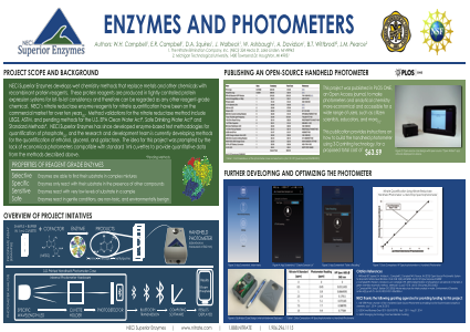 Enzymes and Photometers