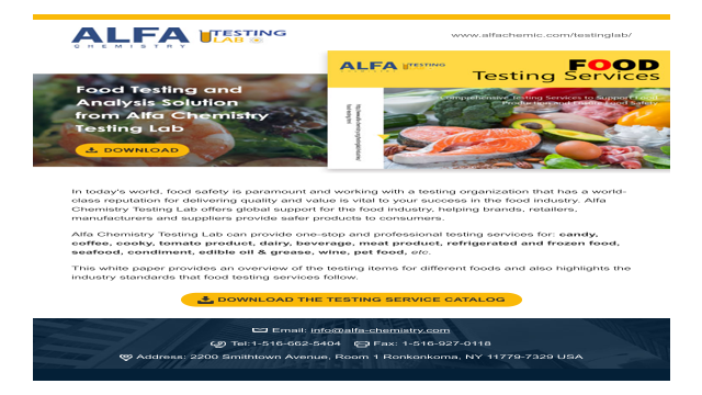 Food Testing and Analysis Solution