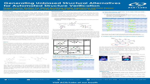 Generating Unbiased Structural Alternatives for Automated Structure Verification