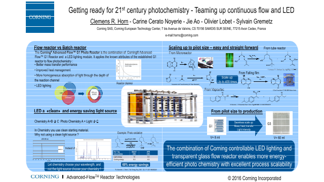Getting ready for 21st century photochemistry - Teaming up continuous flow and LED