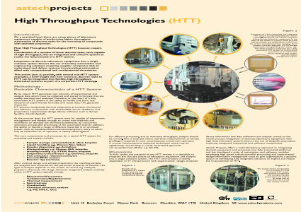 High Throughput Technologies (HTT)