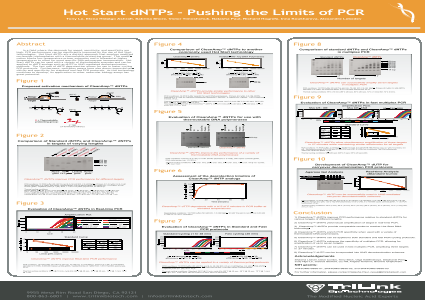 Hot Start dNTPs – Pushing the Limits of PCR