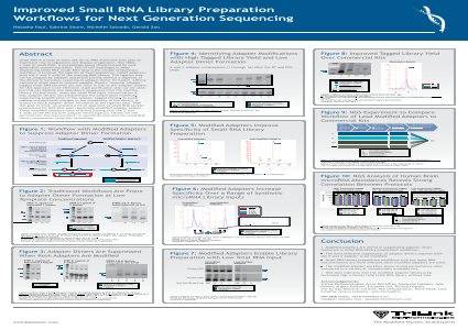 Improved Small RNA Library Preparation Workflows for Next Generation Sequencing