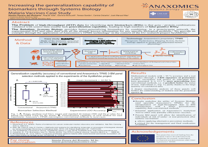 Increasing the Generalization Capability of Biomarkers Through Systems Biology Malaria Vaccines Case Study