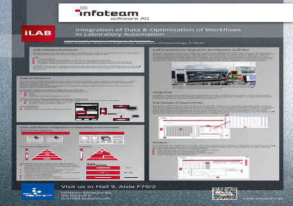 Integration of Data and Optimization of Workflows in Laboratory Automation