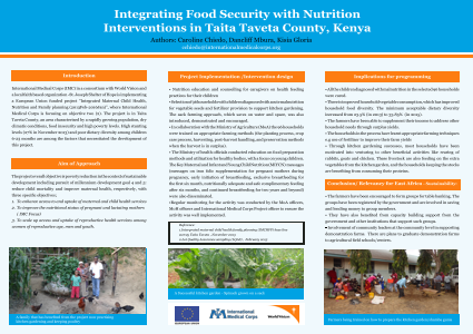 Intergrating food security with nutrition interventions in Taita Taveta county, Kenya