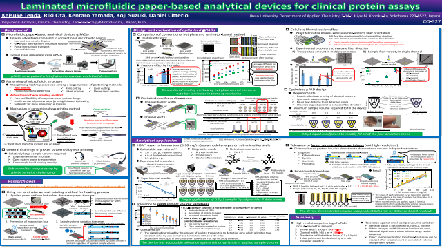 Laminated microfluidic paper-based analytical devices for clinical protein assays