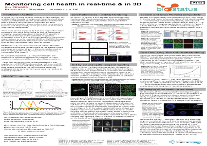 Monitoring Cell Health in Real-Time & in 3D