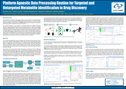 Platform Agnostic Data Processing Routine for Targeted and Untargeted Metabolite Identification in Drug Discovery
