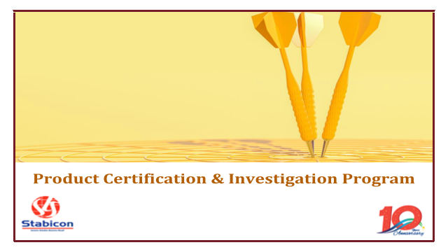 Product Certification and Investigation Program