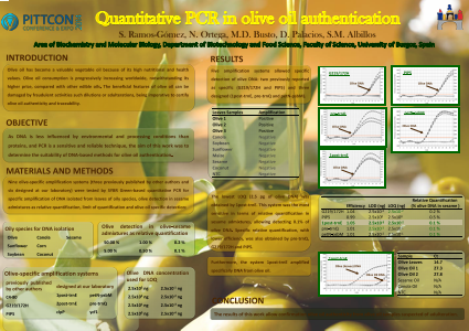 Quantitative PCR in olive oil authentication