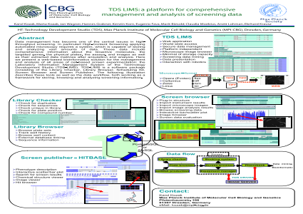TDS LIMS: A Platform for Comprehensive Management and Analysis of Screening Data