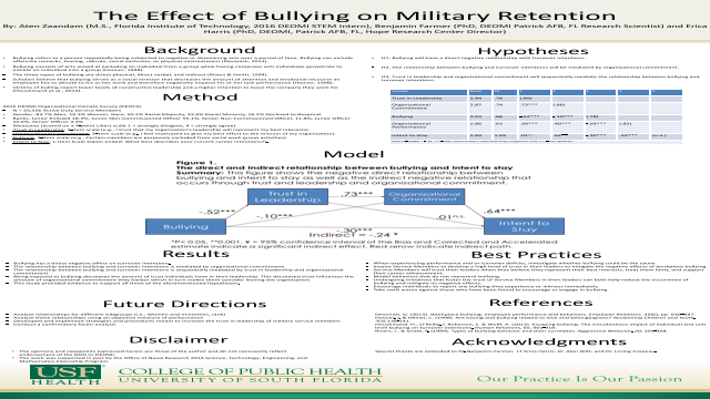 The Effect of Bullying on Military Retention