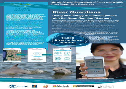 The River Guardians Program – using technology to connect people with the Swan Canning Riverpark, Western Australia