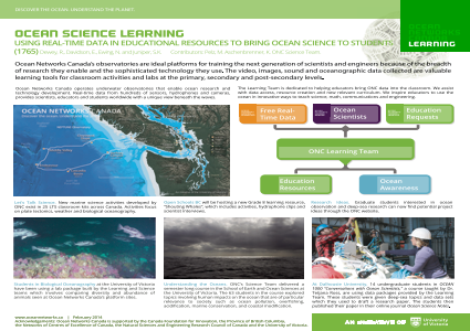 Using Real-Time Data in Educational Resources to Bring Ocean Science to Students