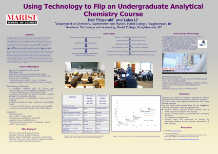 Using Technology to Flip an Undergraduate Analytical Chemistry Course