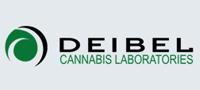 迪贝尔大麻实验室的公司标识