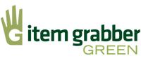 项目Grabber绿色的公司标志