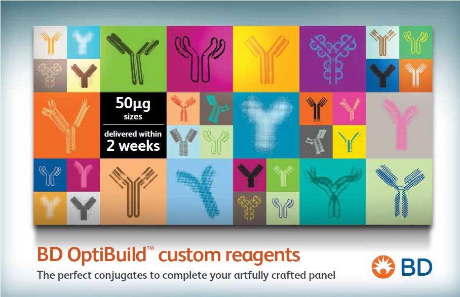 BD OptiBuild™ custom reagents.