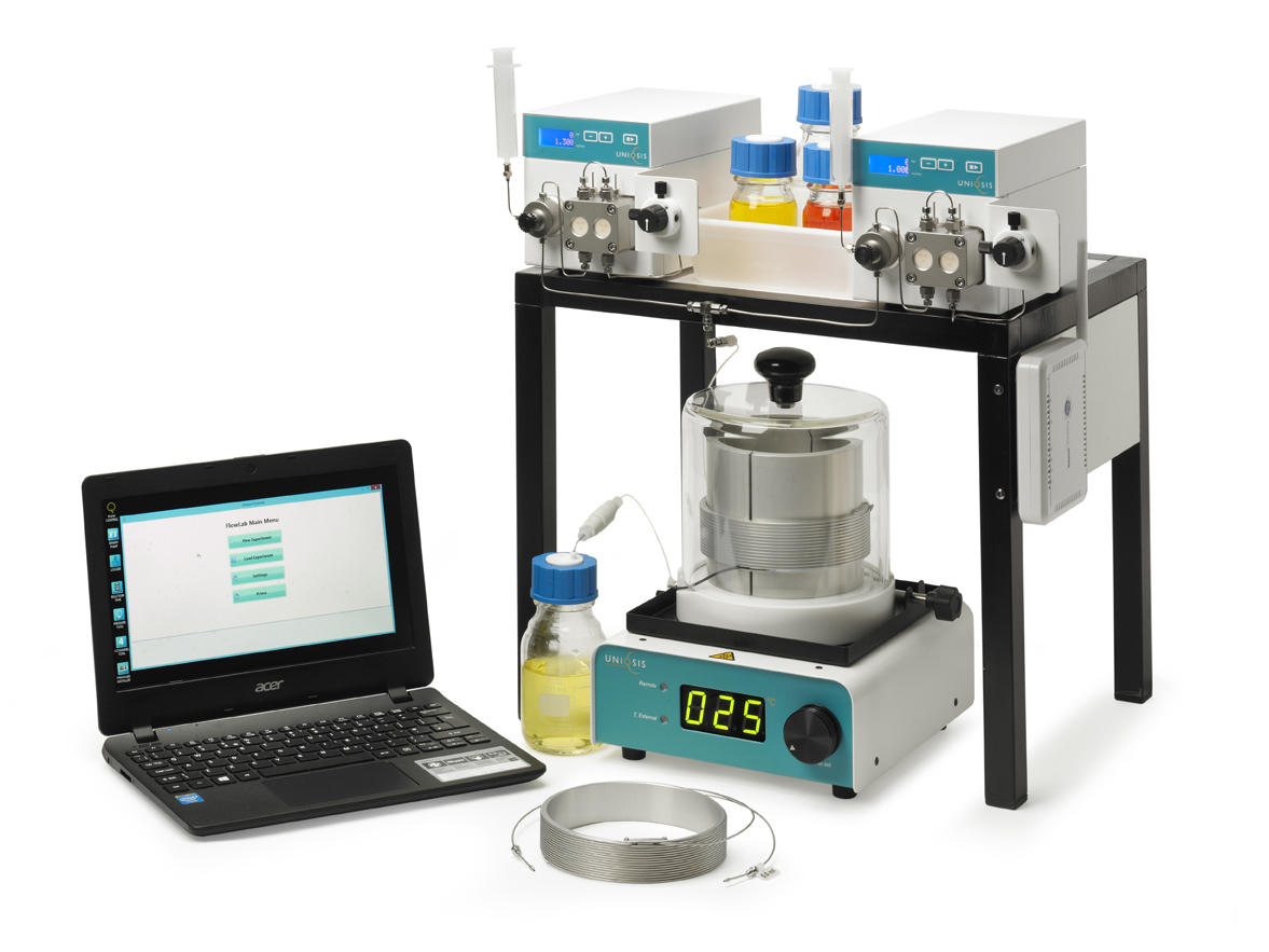 FlowLab™  - Affordable multi-channel multi-step flow chemistry