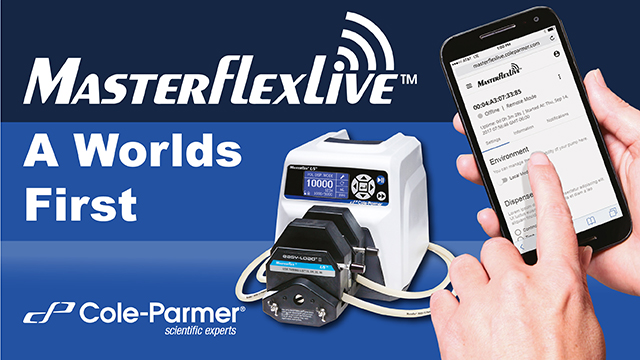 MasterflexLive™ – a world first