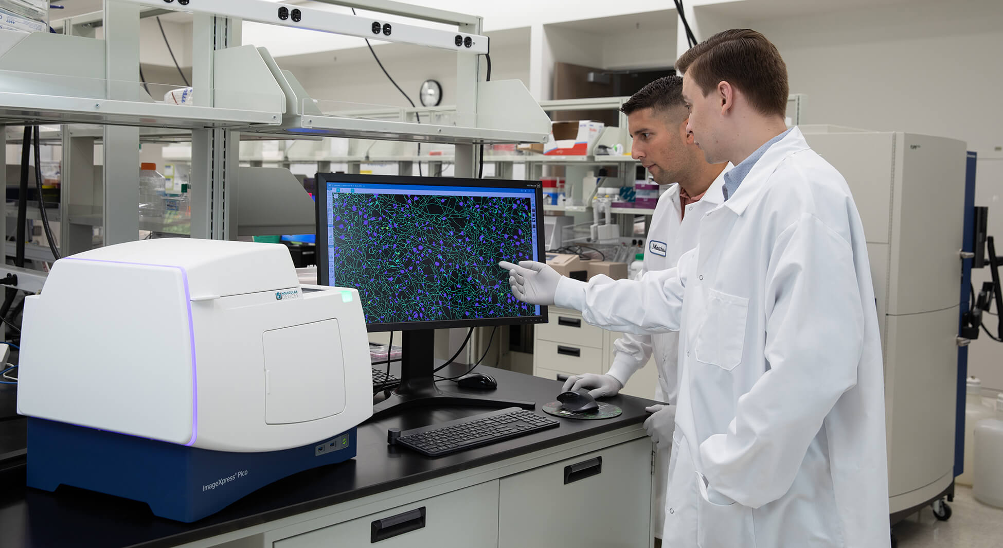 Microscopy imaging for cell counting through to complex image analysis