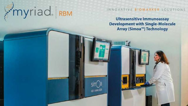 Ultrasensitive Immunoassays from Myriad RBM