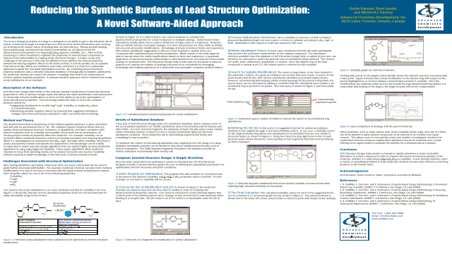 Reducing the Synthetic Burdens of Lead Structure Optimization: A Novel Software-Aided Approach