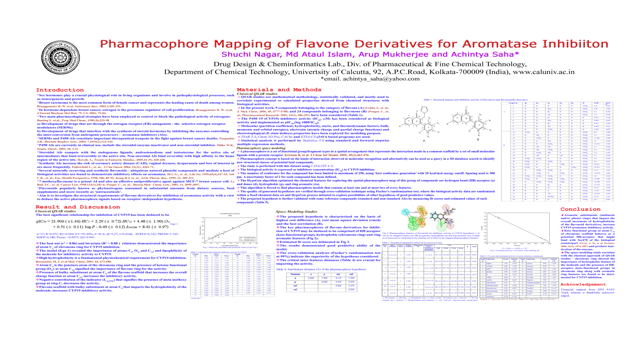 Pharmacophore Mapping of Flavone Derivatives for Aromatase Inhibiton