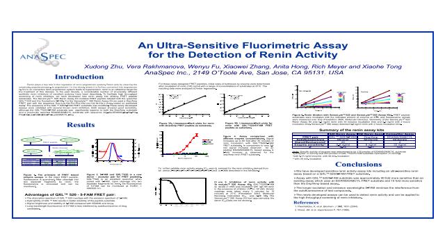 An Ultra-Sensitive Fluorimetric Assay for the Detection of Renin Activity