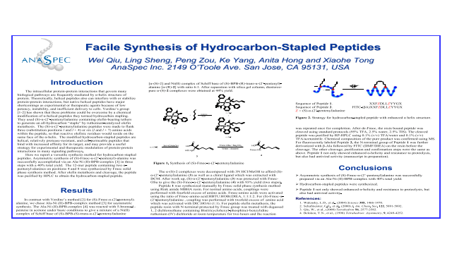 Facile Synthesis of Hydrocarbon-Stapled Peptides