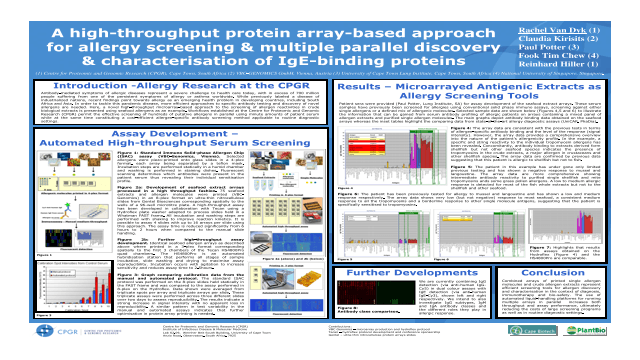 A high-throughput protein array-based approach