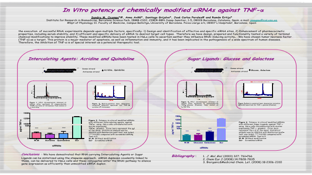 In Vitro Potency of Chemically Modified siRNAs Against TNF-alpha