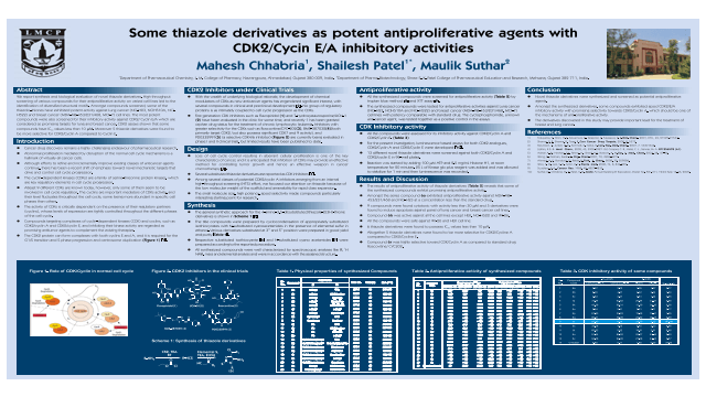 Some thiazole derivatives as potent antiproliferative agents with CDK2/Cycin E/A inhibitory activities